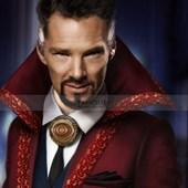 Benedict Cumberbatch Doctor Strange Wool Red Coat